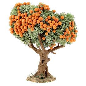 Albero frutta presepe h 16 cm per statue 8-12 cm s2