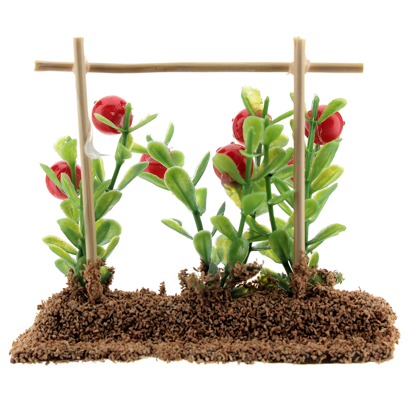Vegetable garden tomatos 7x10x2 cm for Nativity Scene with 12-14 cm figurines 4