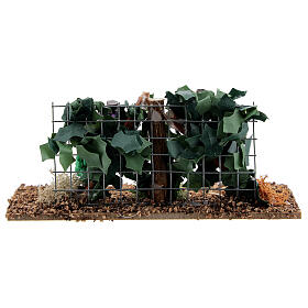Vine with grapes for Nativity Scene with 6-8 cm figurines s3