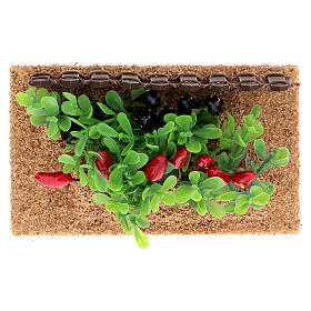 Vegetable garden peppers and eggplants for Nativity Scene with 12-14 cm figurines s3