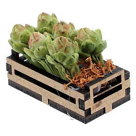 Box with artichokes for Nativity Scene with 12-14 cm figurines s2