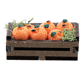 Box with oranges for Nativity Scene with 16 cm figurines s1