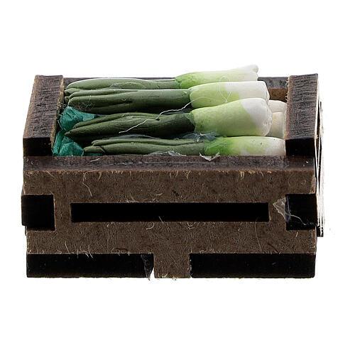 Caisse oignons résine crèche 10-12 cm 3