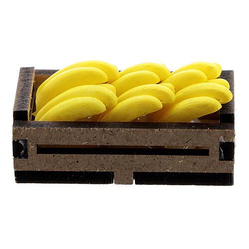 Bananas in box Nativity scene 12-14 cm 3
