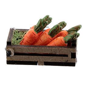 Caisse bois avec carottes crèche 12-14 cm s3