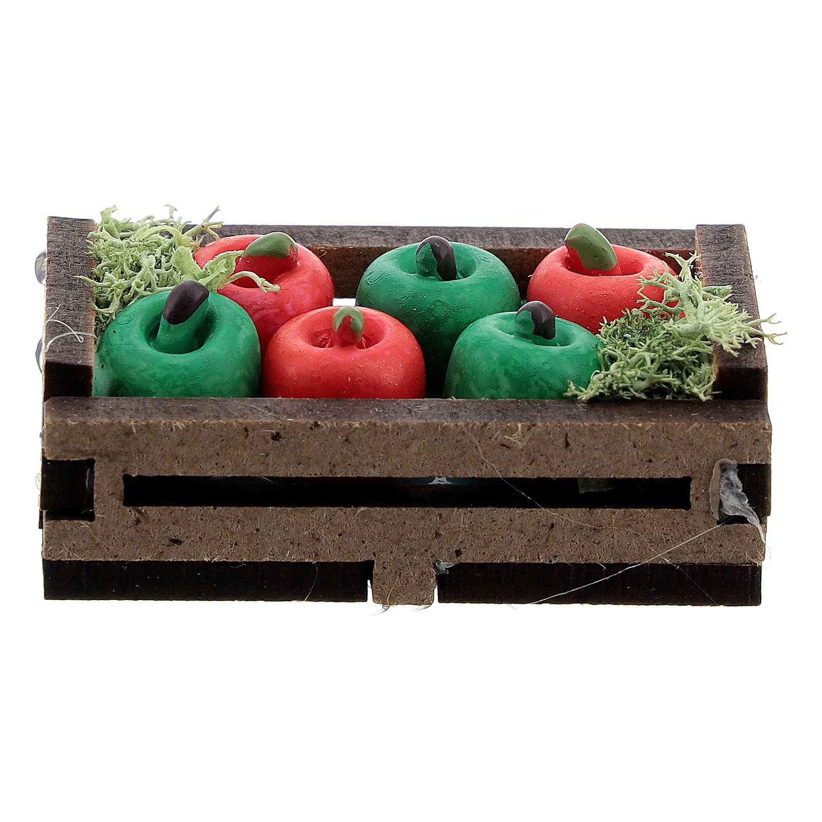 Apples in a box for Nativity Scene with 12-14 cm figurines 4