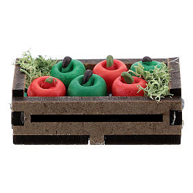 Apples in a box for Nativity Scene with 12-14 cm figurines s3