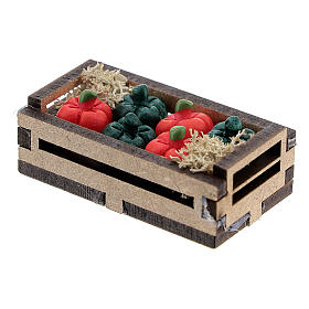 Resin peppers in a box for Nativity Scene with 10-12 cm figurines s2