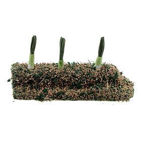 Striscia cipollotti resina presepe 8-10 cm s3