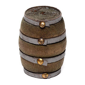 Barrel for DIY Nativity Scene with 4-6 cm figurines s1