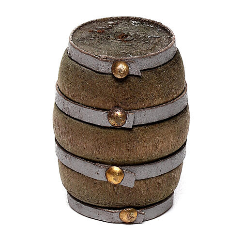 Barrel for DIY Nativity Scene with 4-6 cm figurines 1