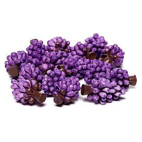 Uva viola presepe fai da te per statue 10-12 cm s3