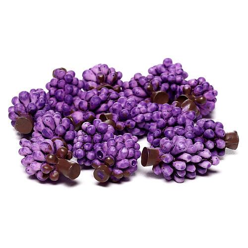 Uva viola presepe fai da te per statue 10-12 cm 3