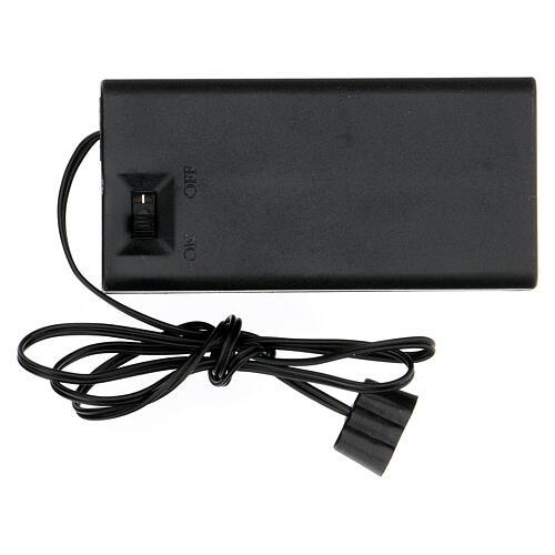Transformador 3,5 V a pilhas AA 3