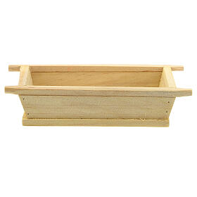 Artesa simple madera 5x10x5 belén 12 cm s1