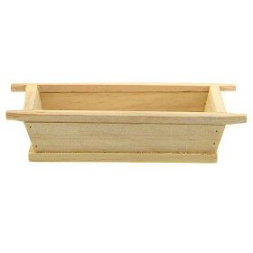 Madia semplice legno 5x10x5 presepe 12 cm s1