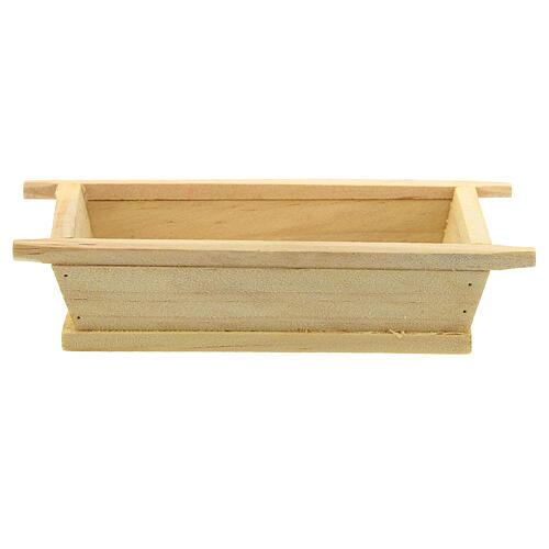 Madia semplice legno 5x10x5 presepe 12 cm 1