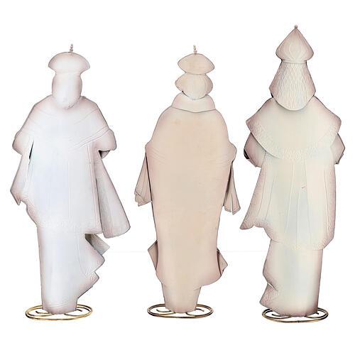 Natividad Reyes Magos estilizados metal 63x25x10 cm 8