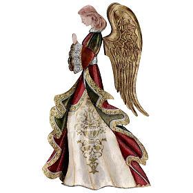 Anjo rezando figura metal 36 cm s1