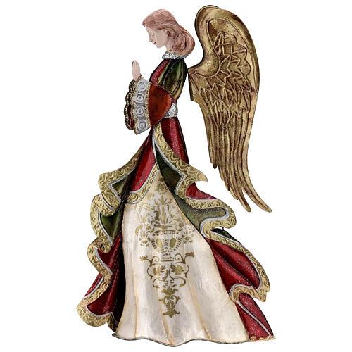 Anjo rezando figura metal 36 cm 1