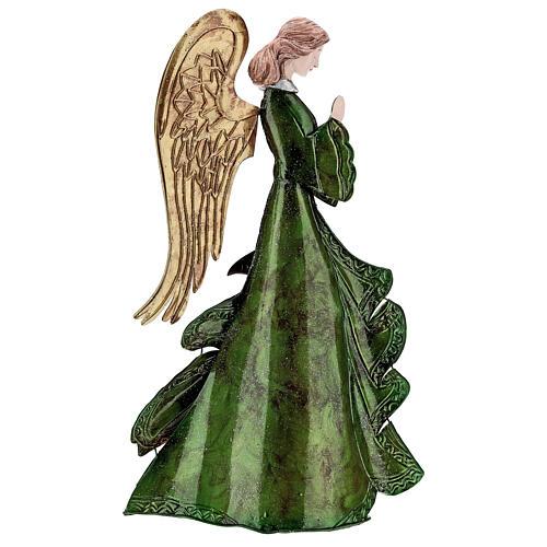 Anjo rezando figura metal 36 cm 5