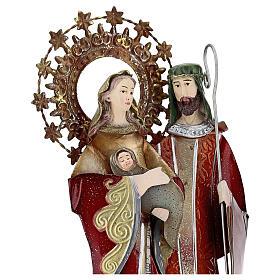 Sagrada Familia rojo pentagrama metal 30x15x10 s2