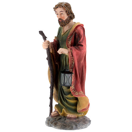 STOCK Nativity Scene painted resin with 90 cm figurines 7