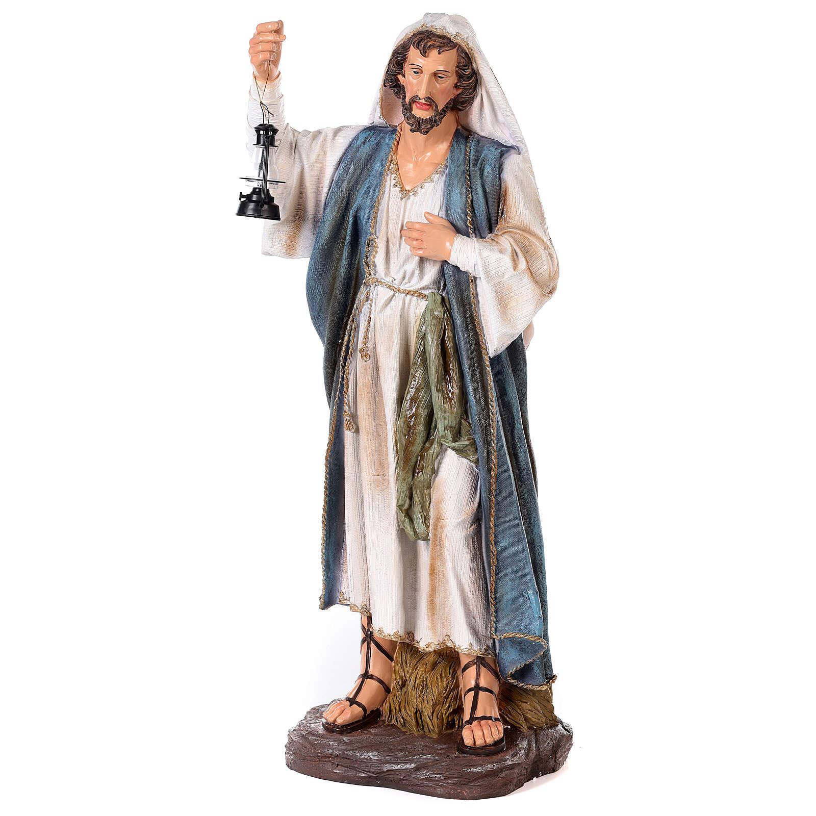 Presepe resina dipinta 90 cm set 11 statue 4
