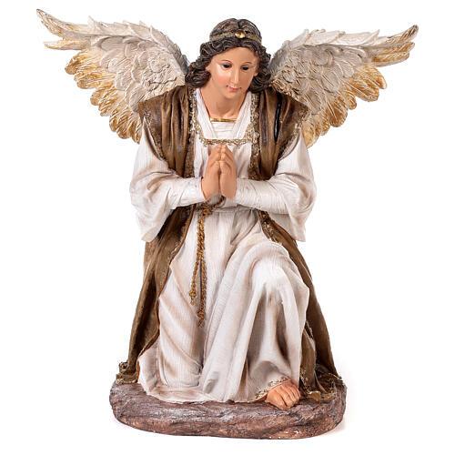 Presepe resina dipinta 90 cm set 11 statue 6