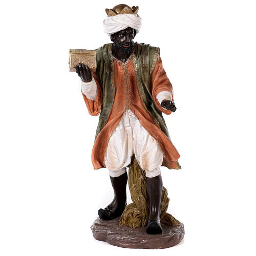 Presepe resina dipinta 90 cm set 11 statue 8