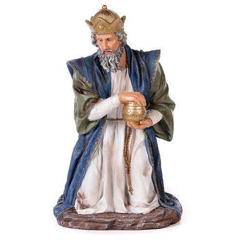 Presepe resina dipinta 90 cm set 11 statue 9