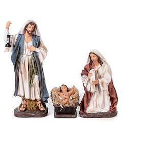Presépio completo resina pintada 11 figuras altura média 90 cm s2