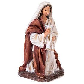 Presépio completo resina pintada 11 figuras altura média 90 cm s4