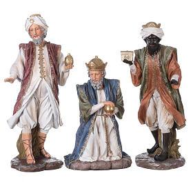 Presepe in resina dipinta 11 statue da 60 cm s5