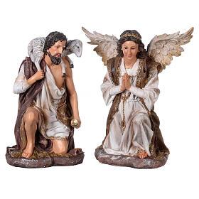 Presepe in resina dipinta 11 statue da 60 cm s7