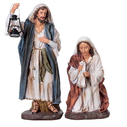 Presepe in resina dipinta 11 statue da 60 cm 3