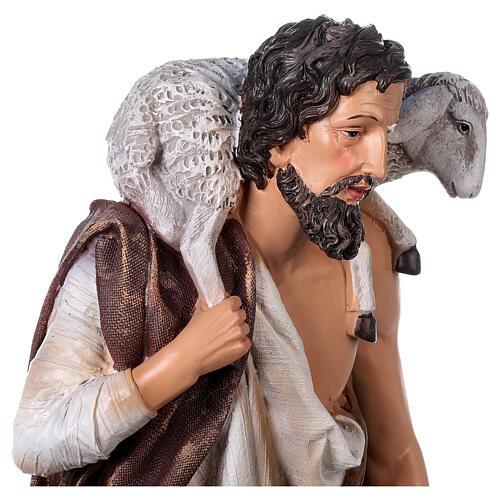 Presepe in resina dipinta 11 statue da 60 cm 8