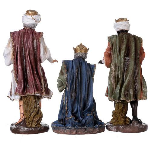 Presepe in resina dipinta 11 statue da 60 cm 11