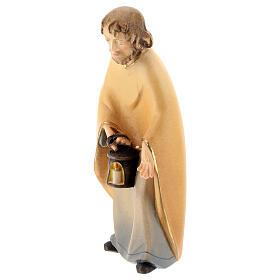 San Giuseppe presepe stilizzato 14 cm Val Gardena s2
