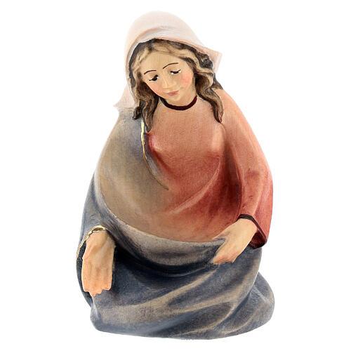 Natività presepe stilizzato Val Gardena 14 cm 6