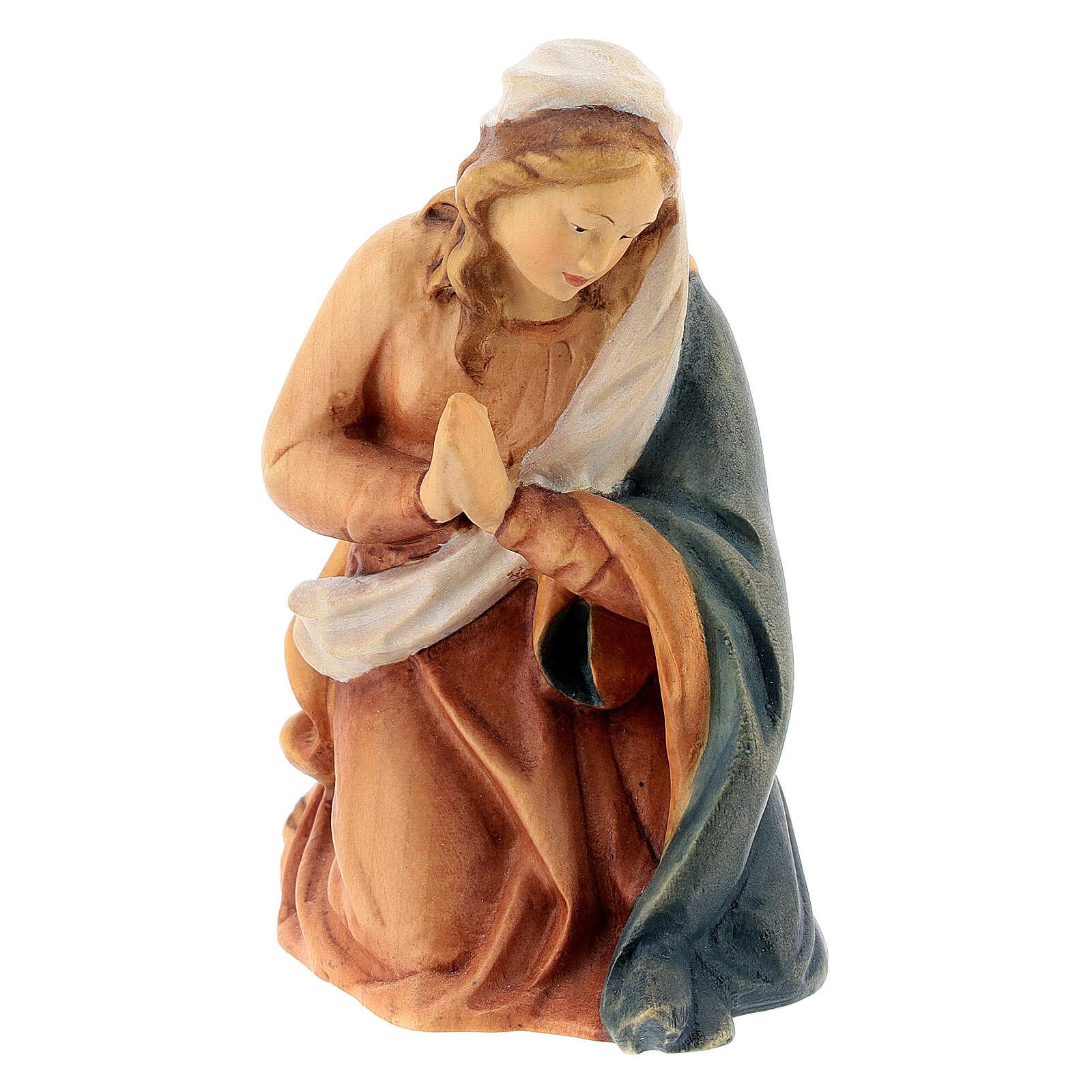 Natività presepe Raffaello 15 cm legno Valgardena dipinto 4