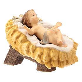Natività presepe Raffaello 15 cm legno Valgardena dipinto s3