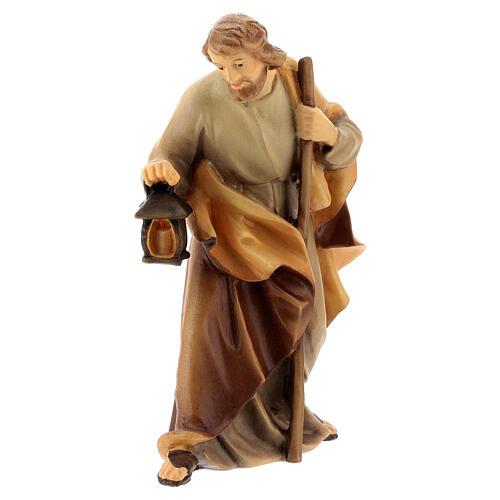 Natività presepe Raffaello 15 cm legno Valgardena dipinto 2