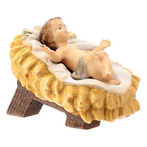 Natività presepe Raffaello 15 cm legno Valgardena dipinto 3