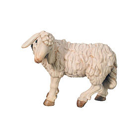 Pecora in piedi presepe Raffaello 15 cm Val Gardena s1