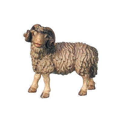Montone presepe Raffaello legno Valgardena 15 cm 4