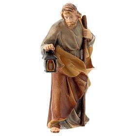 San Giuseppe presepe Raffaello 12 cm legno Val Gardena s1