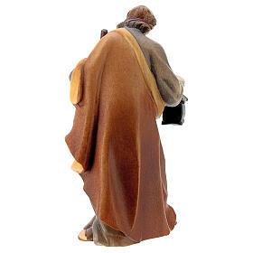 San Giuseppe presepe Raffaello 12 cm legno Val Gardena s4