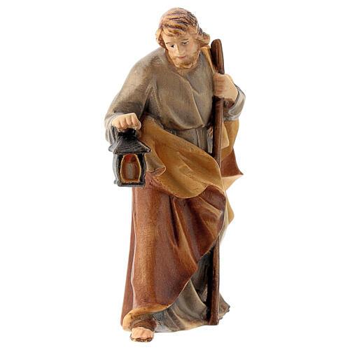 San Giuseppe presepe Raffaello 12 cm legno Val Gardena 1