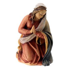 Natività presepe Raffaello dipinto 12 cm Val Gardena s2